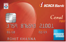 ICICI Bank Coral American Express Credit Card